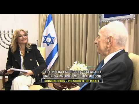 LA ENTREVISTA POR ADELA 28 NOVIEMBRE 2013 SIMON PERES PRESIDENTE DE ISRAEL