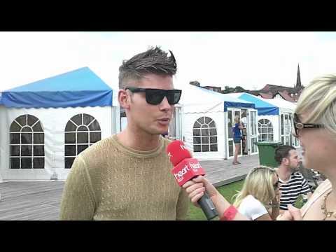 Chester Rocks 2011 - Backstage Chat with Hollyoaks' Kieron Richardson