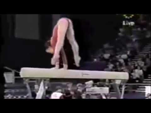 【器械体操女子】昔の選手の平均台! 力技集!!!(Artistic Gymnastics)