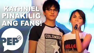 "Daniel Padilla and Kathryn Bernardo singing ""Got to Believe"" theme song"