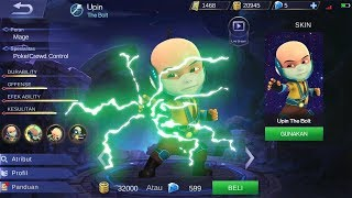 MANTAP! Edit Hero Upin Ipin Di Mobile Legends