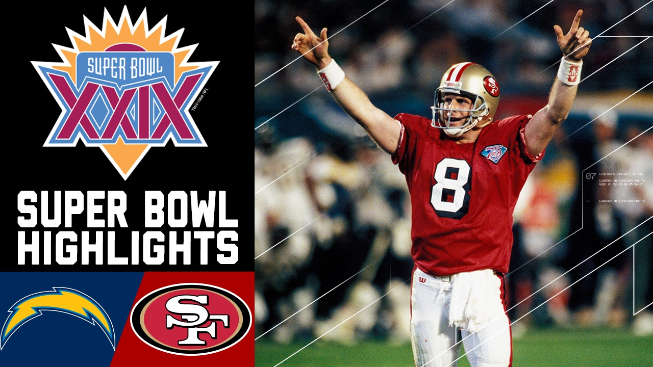 online store 3999f 19b22 Super Bowl XXIX Recap: Chargers vs. 49ers | NFL