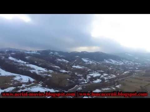 Comuna Lunca Cernii | Cheile Cernii | Februarie 2018 | DJI Phantom 3 SE - 4K