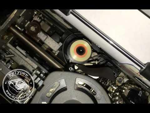 IBM Selectric Typewriter Ribbon Install