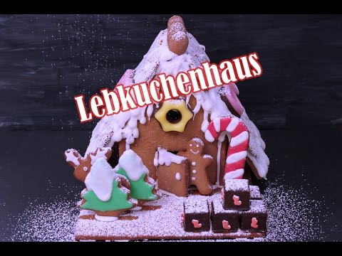 lebkuchenhaus backen lebkuchenhaus selber machen gingerbread house adventskalender 24. Black Bedroom Furniture Sets. Home Design Ideas