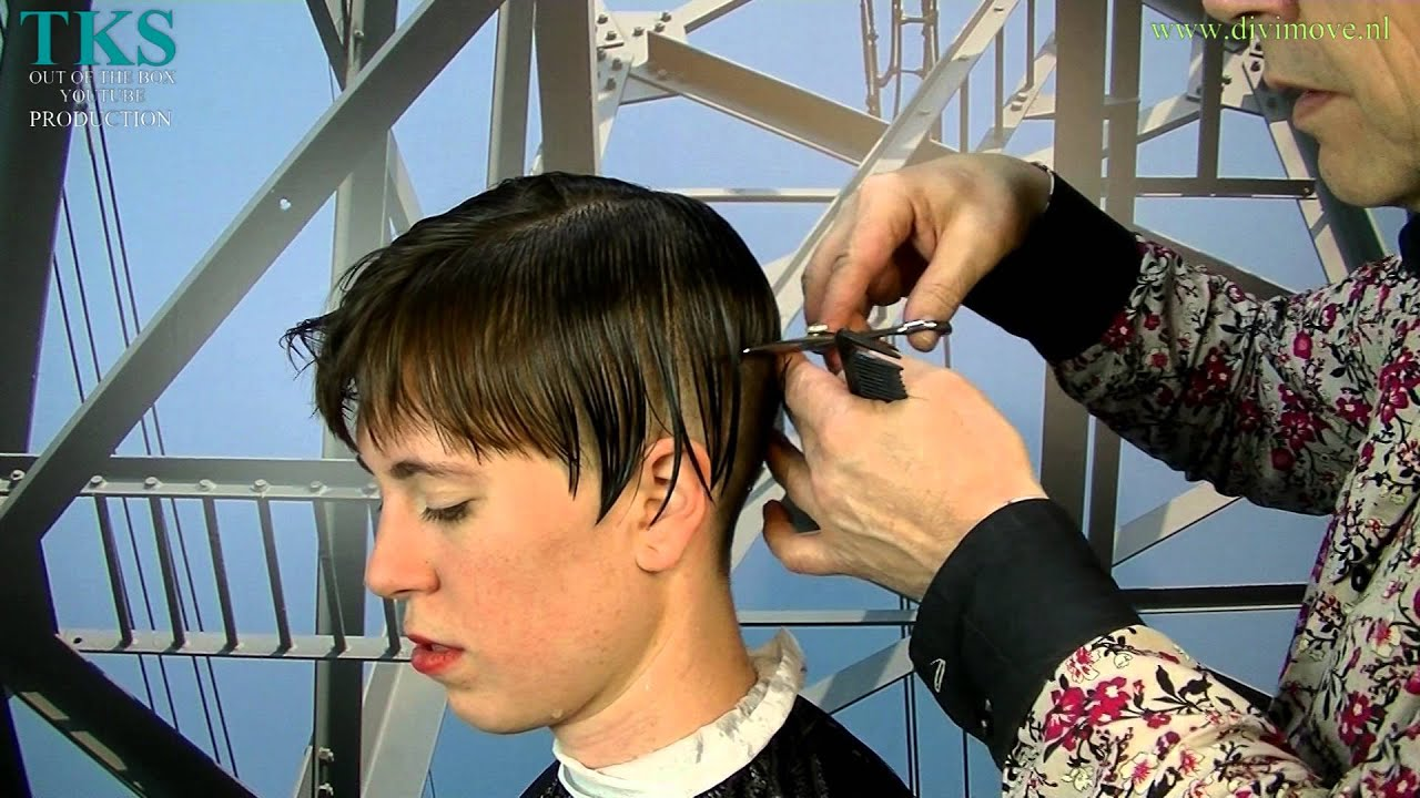 Ill Get A Ultra Short Bowl Hairstyle And Blonde Color Chantal By