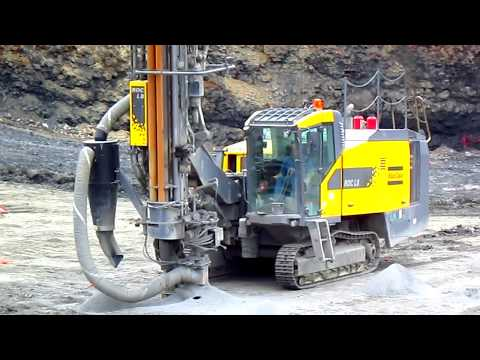 Atlas Copco Roc L8 Drilling