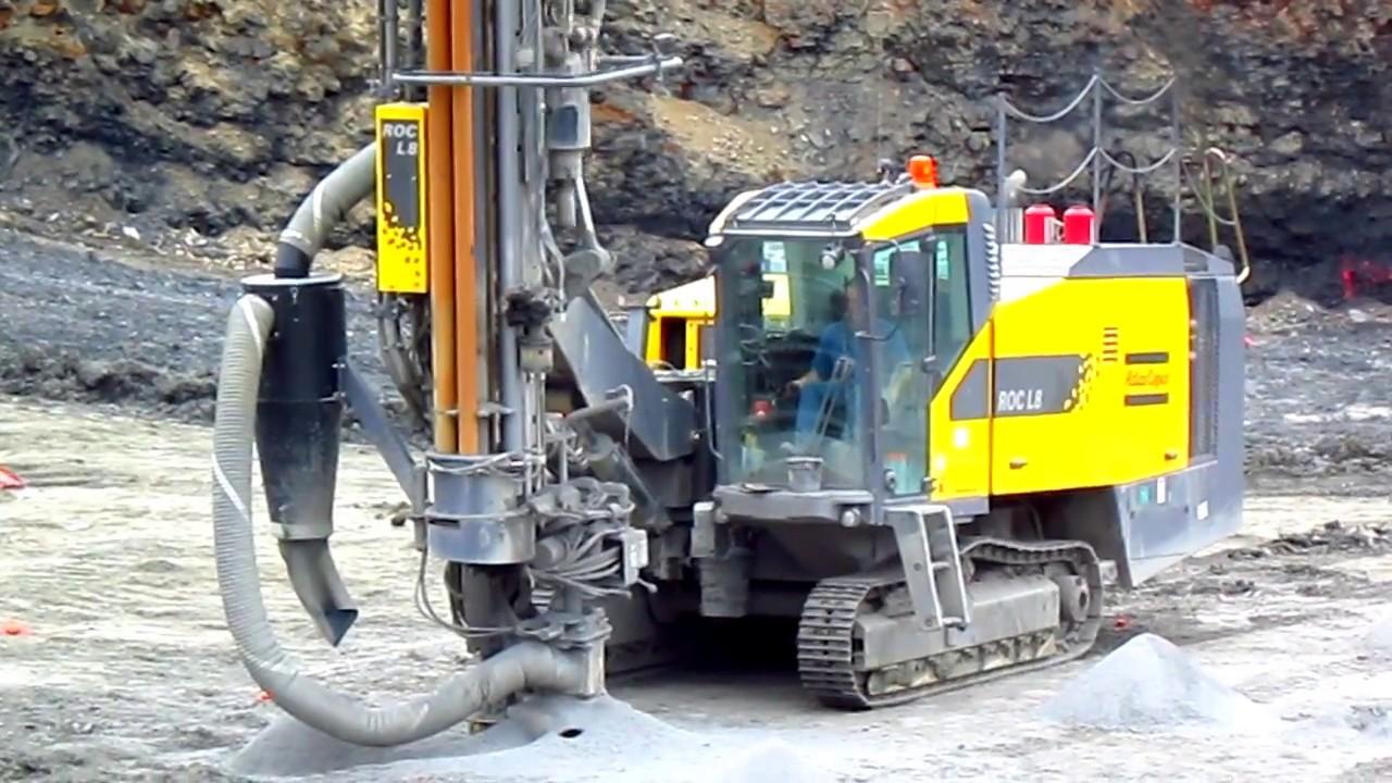 Wspólne Atlas Copco Roc L8 Drilling - YouTube SU-28