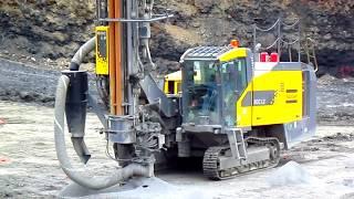 Atlas Copco Roc L8 Drilling