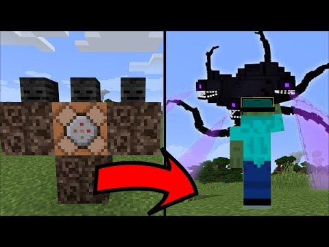 FRIENDLY ZOMBIE MARK CRAFT A WITHER STORM In Minecraft !!