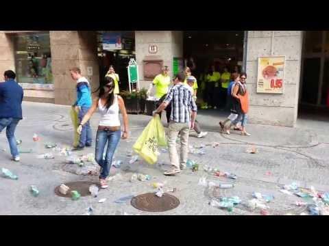 Video Flashmob - Landstraße 28.6. I/III