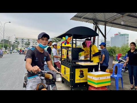 Nhượng quyền xe bán cafe pha máy | Kinh doanh cafe pha máy