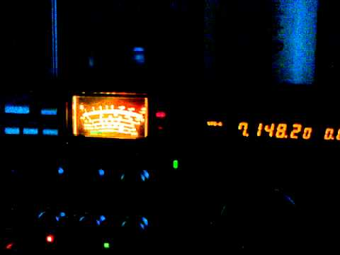 Radio Contact DX Italy - South Carolina USA with AA4V 7MHz