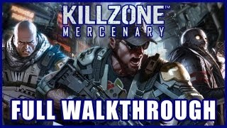 Killzone: Mercenary FULL GAME WALKTHROUGH Gameplay [PS Vita] TRUE-HD QUALITY