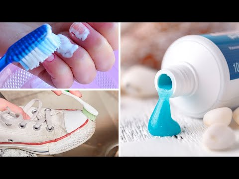 10 Alternative and Unusual Uses for Toothpaste