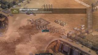 Sun Age (Real Time Strategy) - Mission 1 Tutorial Gameplay [2/2]
