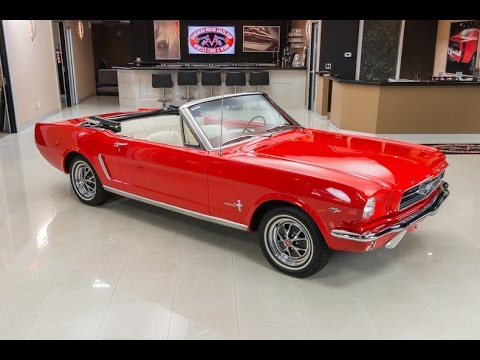 1965 Ford Mustang Convertible For