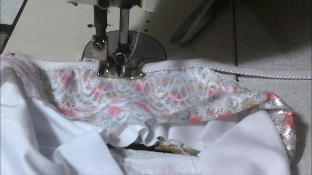 9b890475a calcinha feita na zig zag   Aula  27 - YouTube