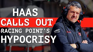 Haas Hits Back at Racing Point's Alleged Hypocrisy - Gasly & Kvyat Went to Red Bull Too Soon