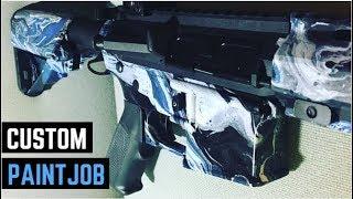 Swirlpainting My Airsoft Gun 2.0 (CA KM12 Paintjob)