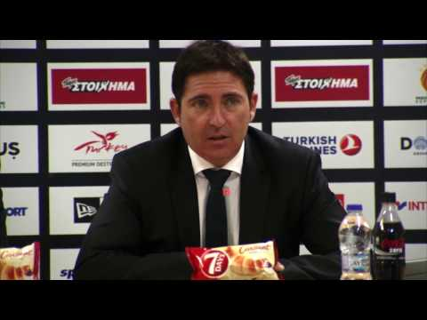 Euroleague Post - Game Press Conference: Panathinaikos Superfoods vs Darussafaka Dogus Istanbul
