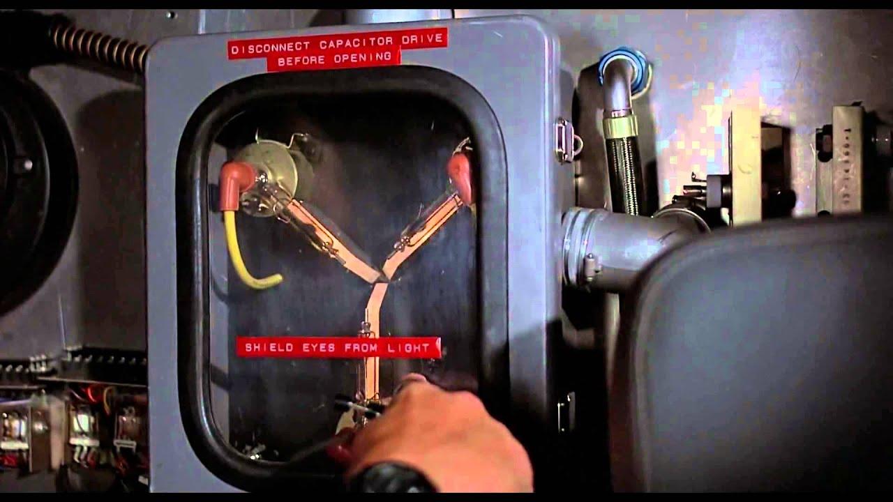 U0026quot  El Condensador De Fluzo U0026quot  Regreso Al Futuro