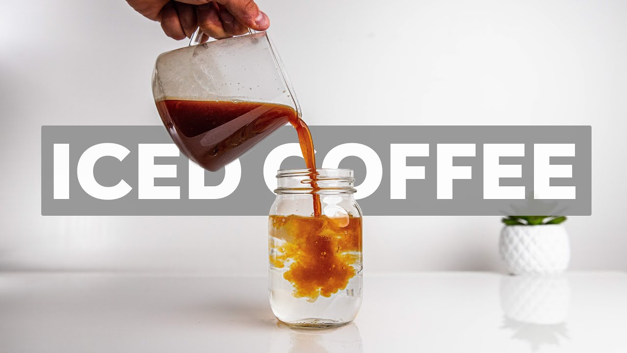 Download 4 WAYS TO MAKE ICED COFFEE AT HOME (BETTER than Cold Brew?)