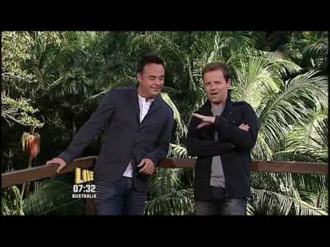 Anthony McPartlin went commando or did he - Im A Celebrity 22/11/09