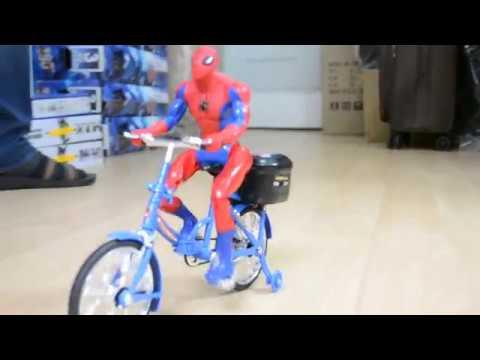 Hobimtek Oyuncak Spider-Man Hareketli Bisiklet Örümcek Adam