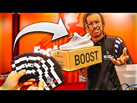 BUYING YEEZYS USING ONLY $20 GIFT CARDS!!