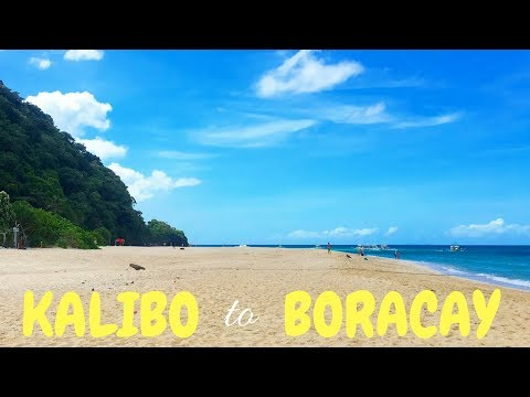 Getting from Kalibo to Boracay | PHILIPPINES travel