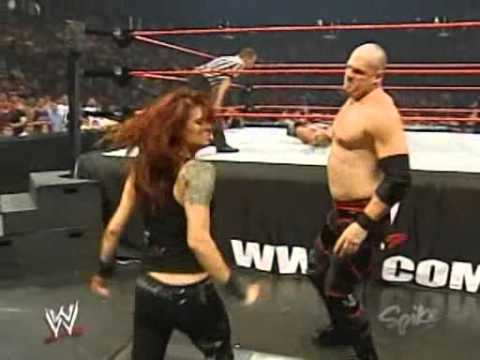 2005 07 11 RAW   Edge with Lita vs  Kane + Matt Hardy