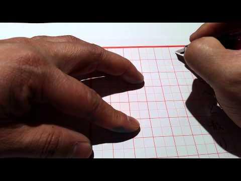 "Japanese Poem ""iroha"", fountain pen writing"
