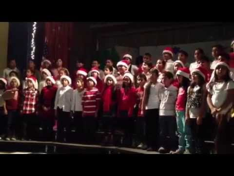 Alvin and the chimpmunks-Chistmas don't be late by Reseda Elementary school 4th graders
