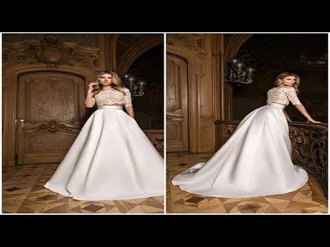 1562b3d62d939 أجمل فساتين اعراس 2018 👸 موديلات فساتين زفاف لاجمل عروسة 2017 - 2018