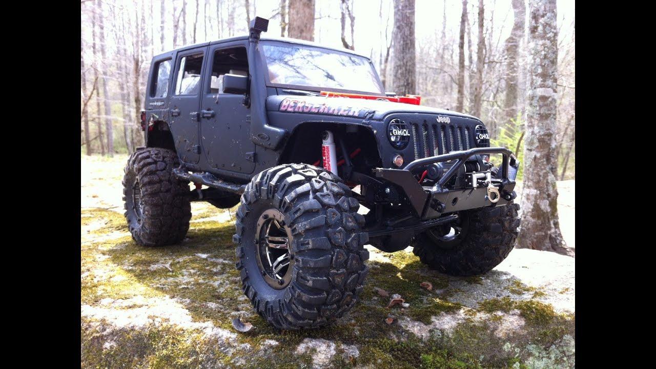 Jeep JK Berserker..Murdered Out!! PURE RC 4x4. Creek ...