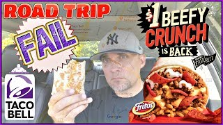 Video Taco Bell® | Beefy Crunch Burrito Road Trip Fail | Test Market download MP3, 3GP, MP4, WEBM, AVI, FLV Agustus 2018