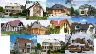 видео Проекты крыш частных домов с мансардой