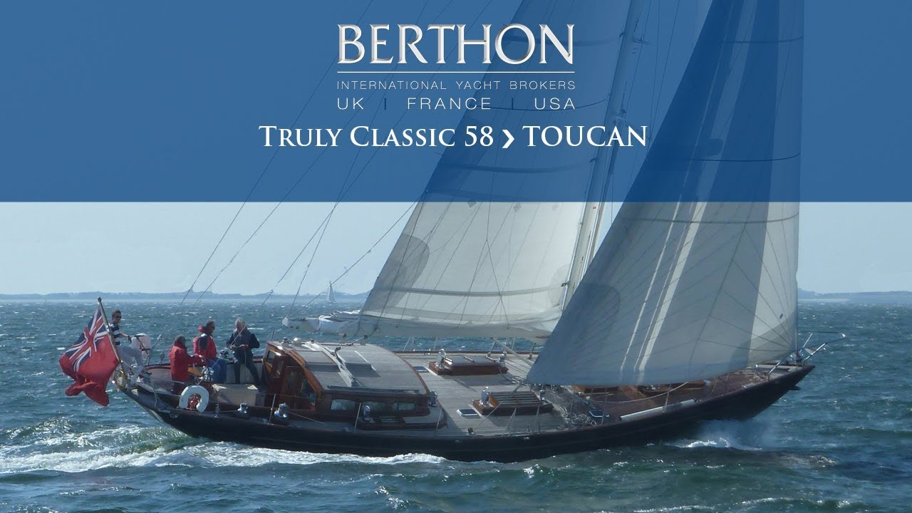 [OFF MARKET] Truly Classic 58 (TOUCAN) Walkthrough - Yacht for Sale -  Berthon International