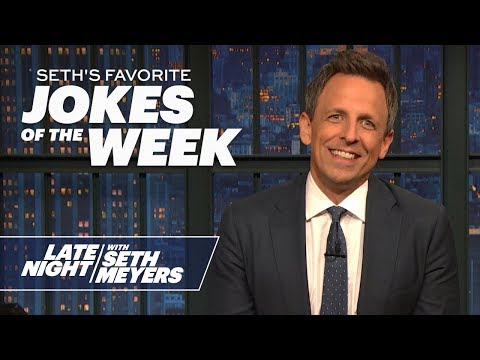 Seth's Favorite Jokes of the Week: Trump Is Moving to Florida, Trump's Louisiana Rally
