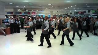 The Dance mob -  Waitrose, Canary Wharf
