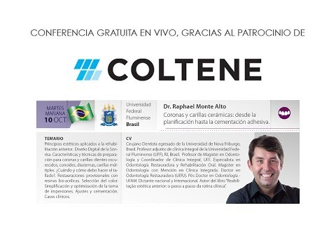 594 7th Coltene School E-Forum - Brazil - Coronas y Carillas Cerámicas: desde la planificación