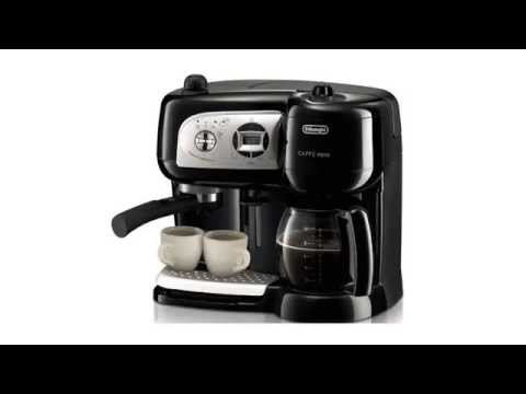 delonghi bco264b cafe nero combo coffee and espresso maker youtube. Black Bedroom Furniture Sets. Home Design Ideas