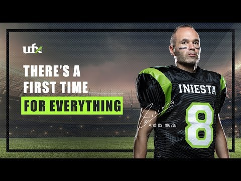 There's a First Time for Everything - Andrés Iniesta For UFX