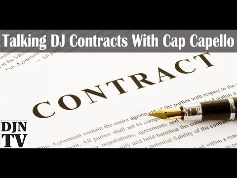 Talking Dj Contracts With Cap Capello | #Djntvlive - Youtube