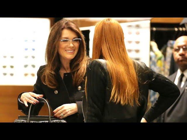 Lisa Vanderpump Shops Dolce & Gabana With Daughter Pandora - EXCLUSIVE