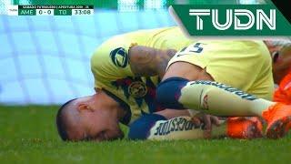 Lesión de Castillo | América 0 - 0 Tijuana | Liga MX - J3 | TUDN México