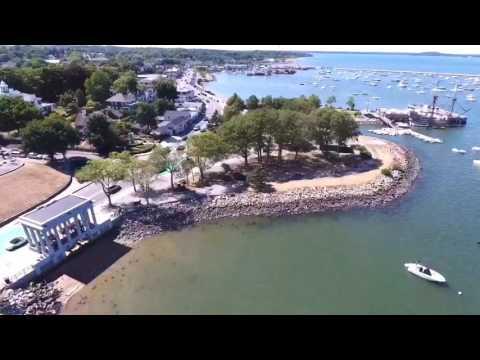 Dji Phantom 4 - Plymouth, MA waterfront