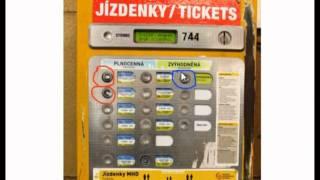 Как купить езденки (проездные билеты) в Праге