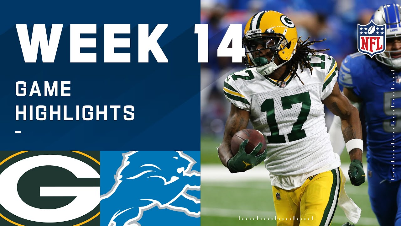 Download Packers vs. Lions Week 14 Highlights | NFL 2020